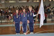 Infantis masculinos, Campeões Nacionais de Mini Trampolim